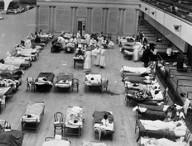 В начале двадцатого столетия страшнейшим был испанский грипп, который унес жизни до 50000000 человек