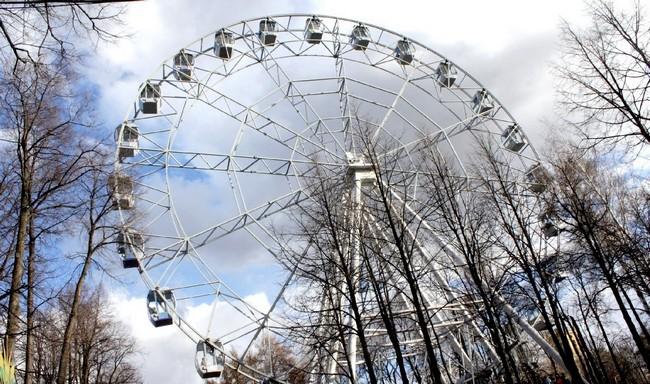 50-метровое колесо обозрения в Перми