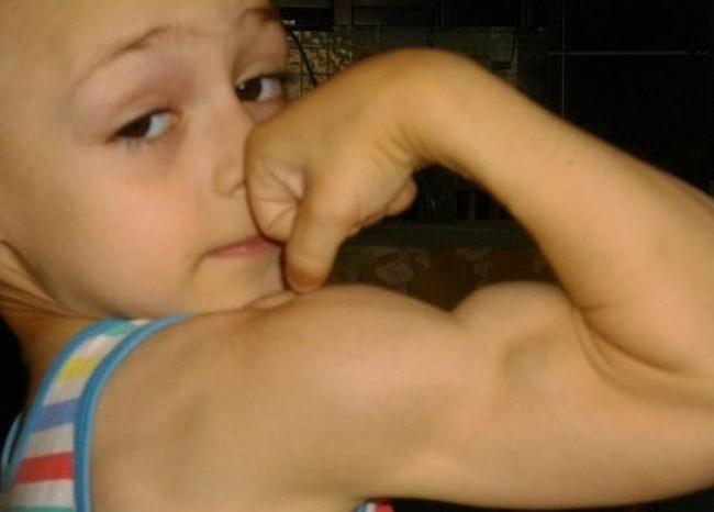 Тренировать мышцы Джулиано Строэ начал в двухлетнем возрасте