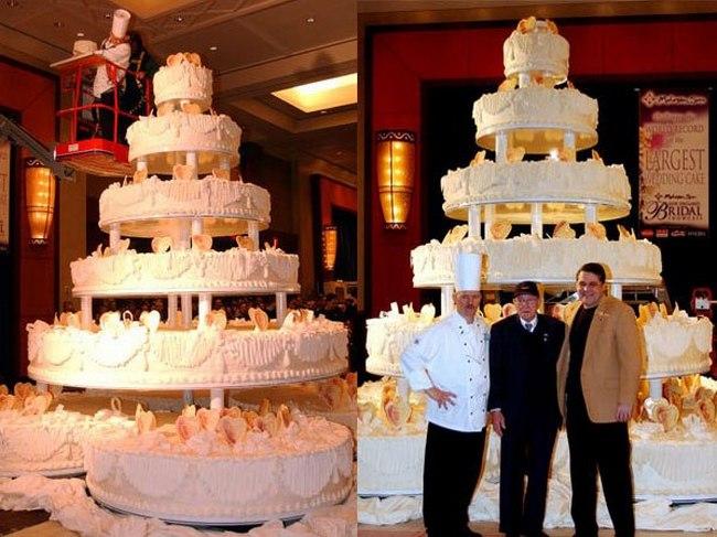 7-тонный свадебный торт для молодоженов из США