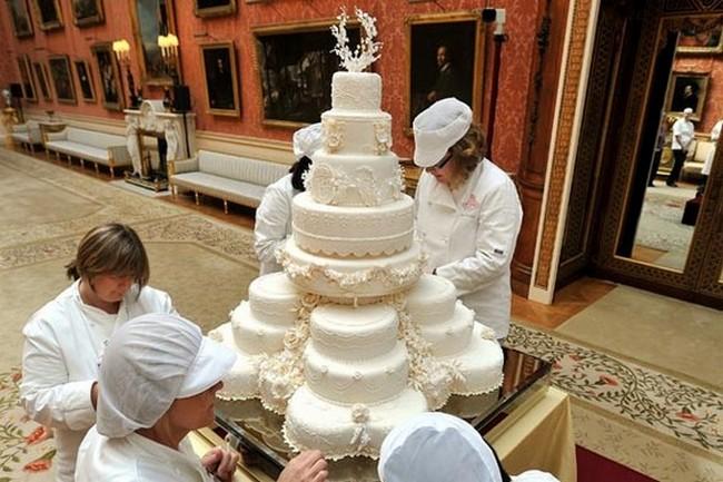 Самый красивый торт на свадьбу Принца Уильяма и Кейт Миддлтон