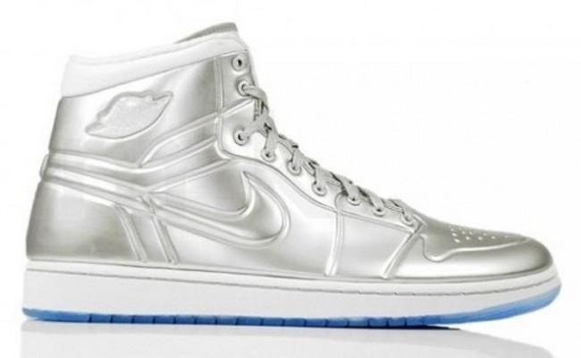 Кроссовки Silver Air Jordan Shoes