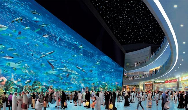 аквариум Дубаи