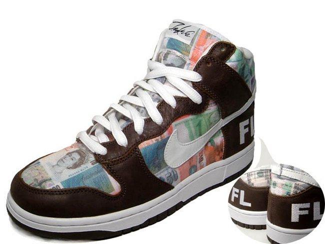 Кроссовки Nike SB Flom Dunk High