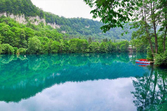 Голубое озеро - Кабардино-Балкария
