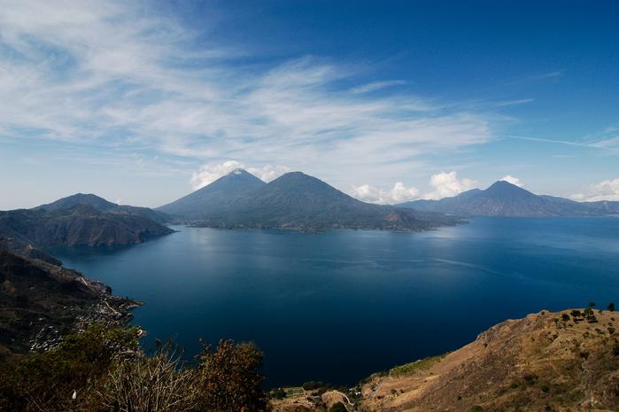 Озеро Атитлан, Гватемала