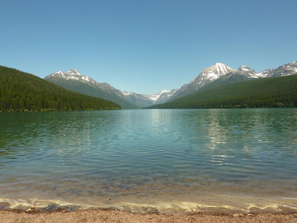Самое прозрачное озеро в мире