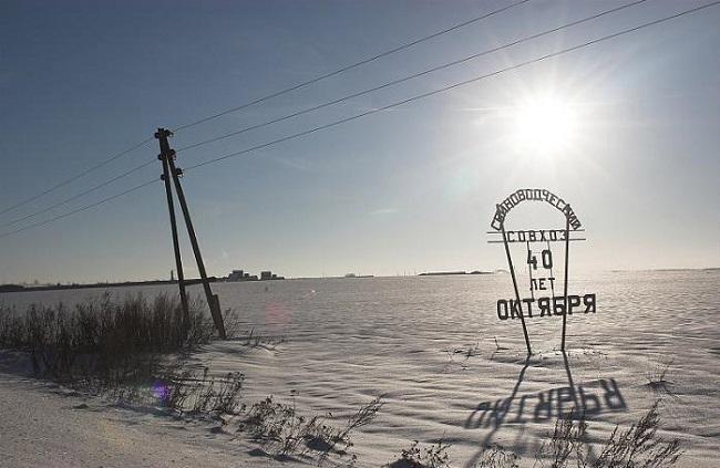 Поселок Центральной усадьбы совхоза