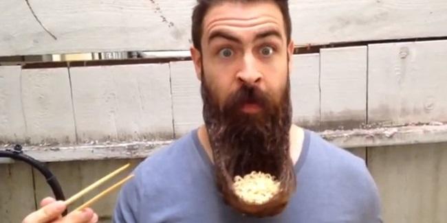 Тарелка из бороды