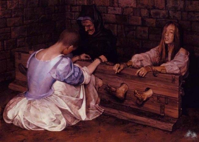 Жертва «пяти наказаний»
