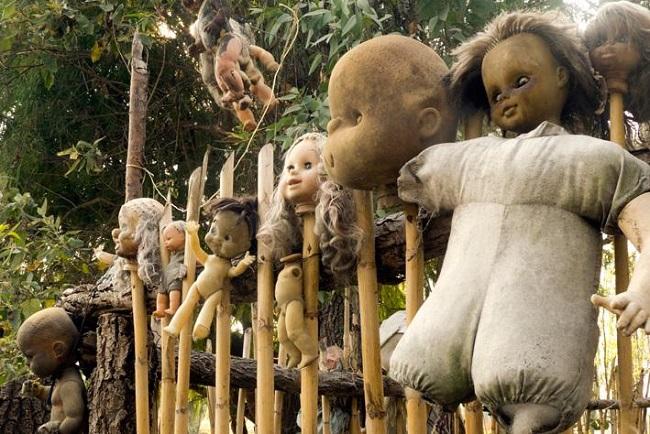 Остров кукол, Мексика