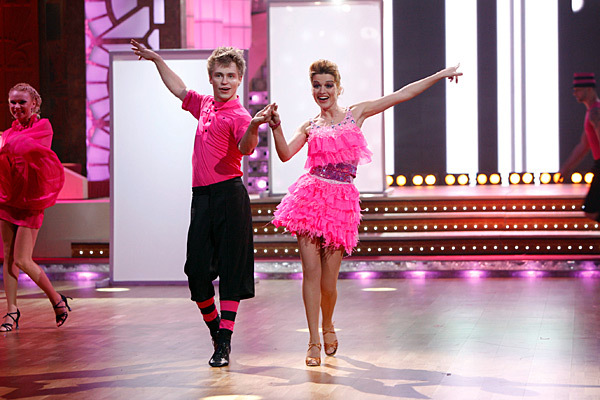 Ксения Бородина в танцах со свездами