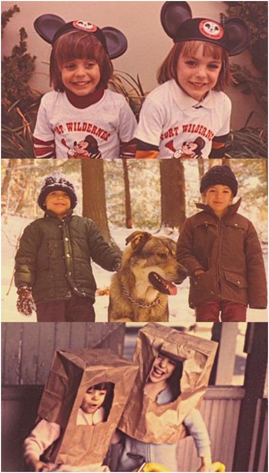 Детские фото Джареда и Шеннона