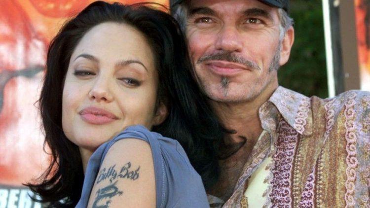 Анджелина Джоли с Билли Бобом Торнтоном