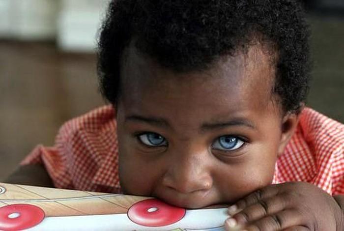 Чернокожий ребенок