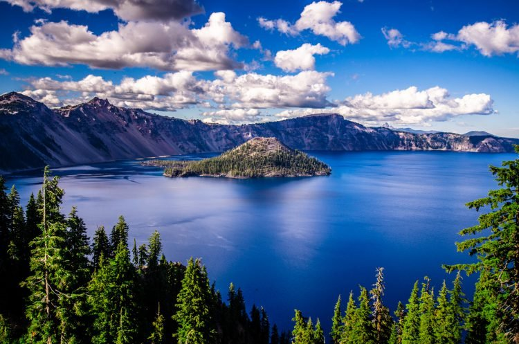 США озеро Крейтер