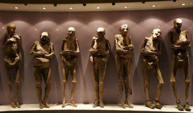 Кричащие мумии