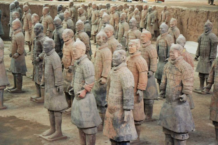 Терракотовая армия Цинь Ши-Хуан