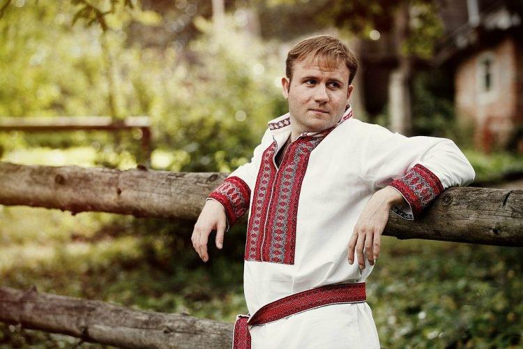 славянский мужчина