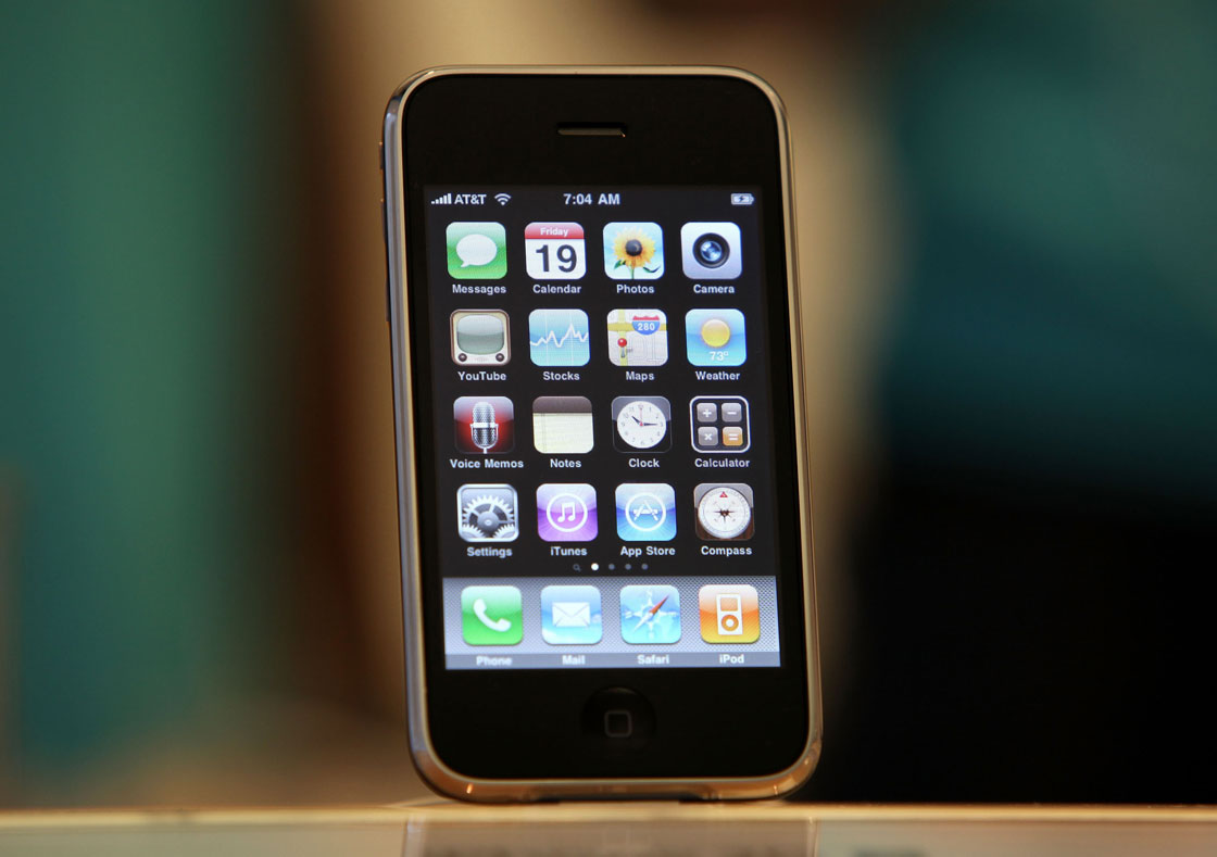 дисплей первого айфона