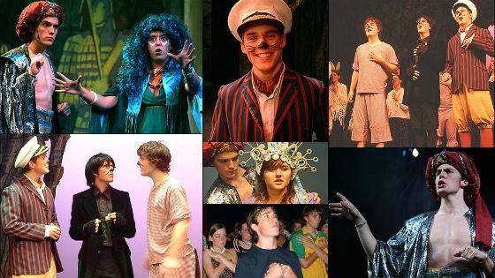 Первыми для Сэма стали роли в театральных постановках
