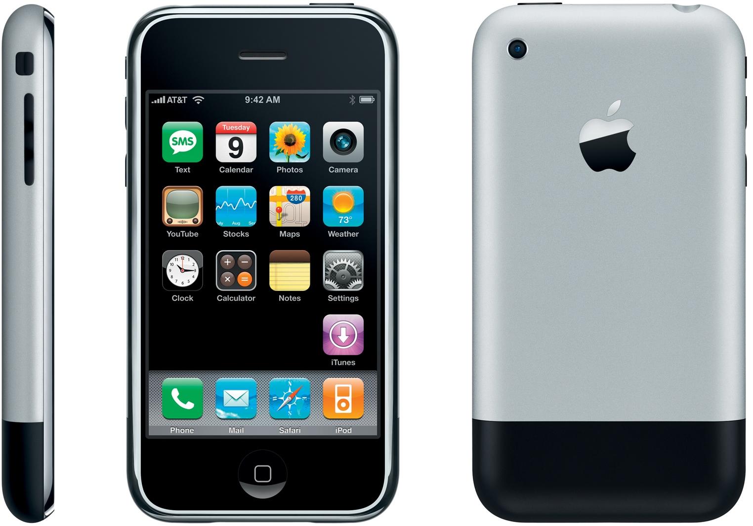 внешний вид iphone-2g