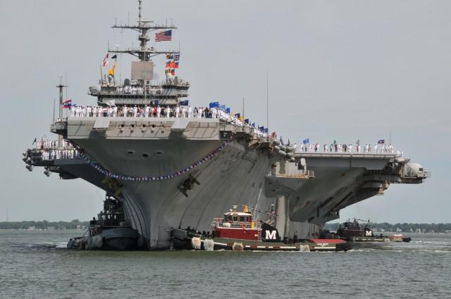 Атомный авианосец ВМС США Enterprise