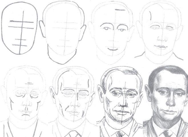 нарисовать человека