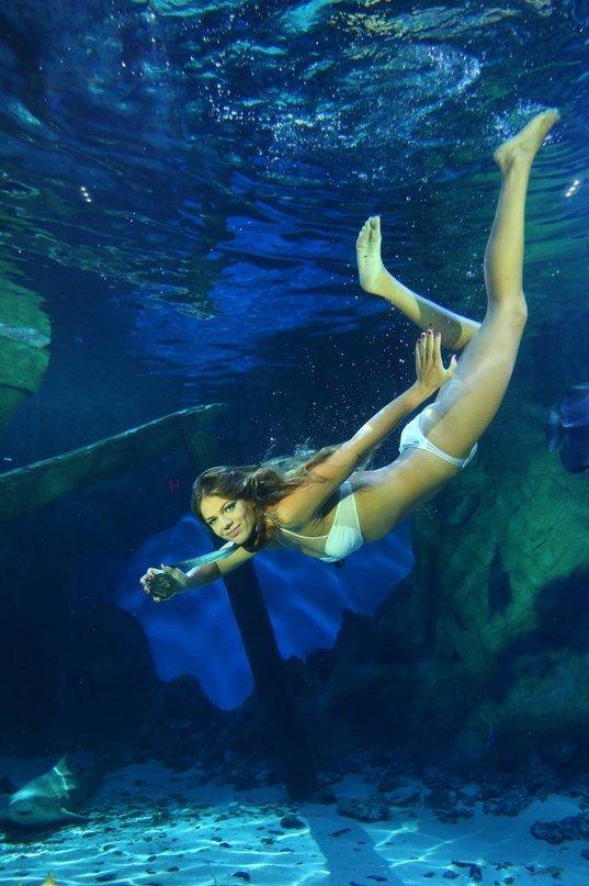 Фотосессия для обложки журнала «Плавание»