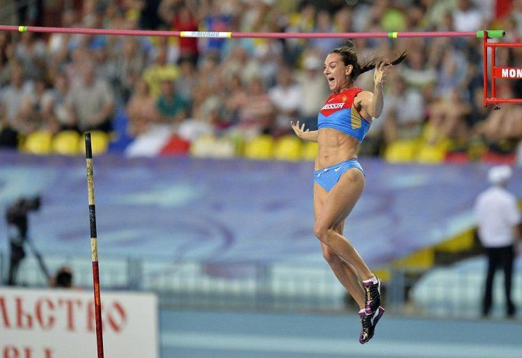 «золотой» прыжок на Чемпионате Мира в Москве