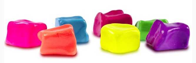 Разноцветные лизуны