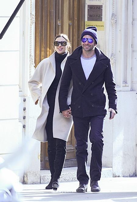 Ирина Шейк и Бредли Купер в Париже