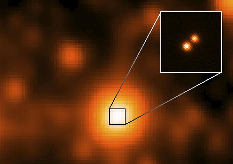 двойная звезда Луман 16
