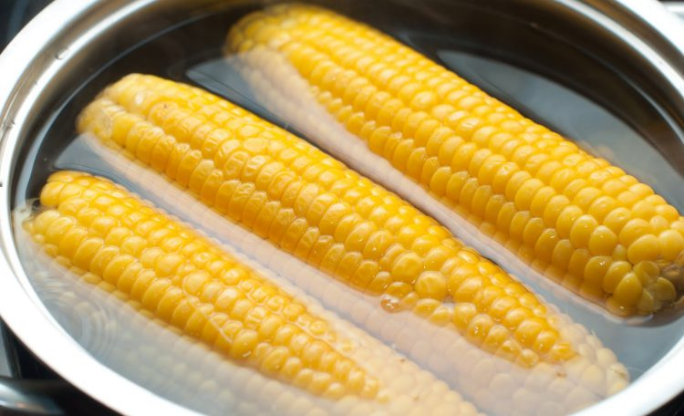 Вареная кукурузу