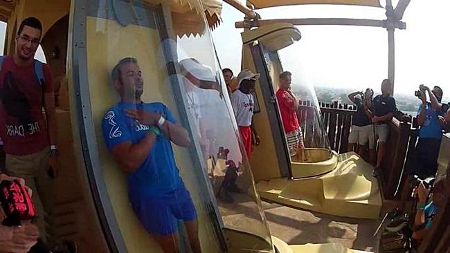 Водная горка в ОАЭ