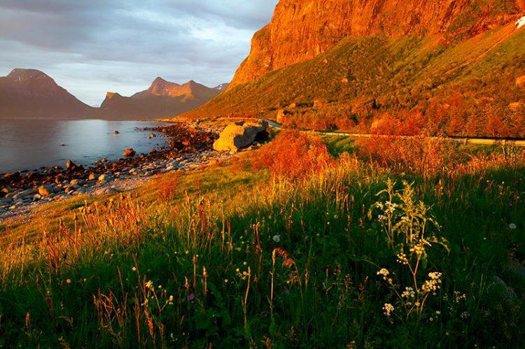 Солнцестояние в Норвегии