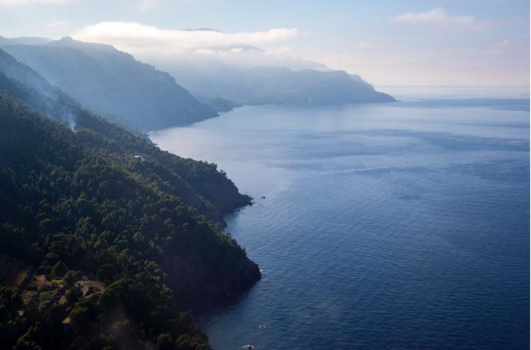 Рассвет на Средиземном море