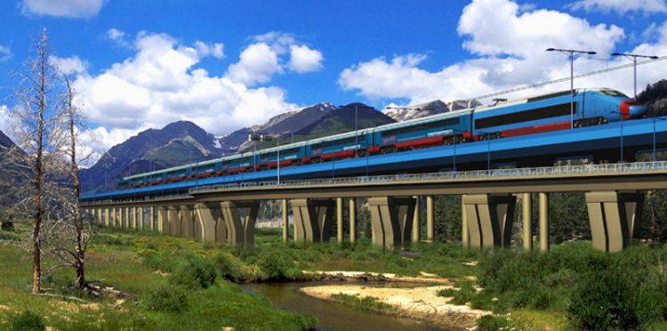 Железнодорожный мост на трассе Адлер