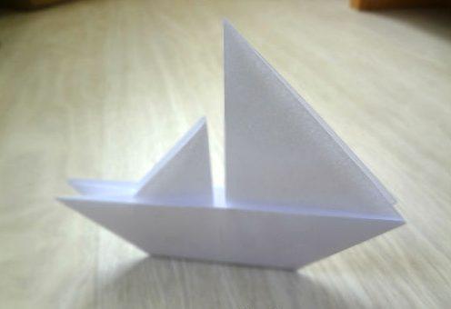 Бумажный караблик