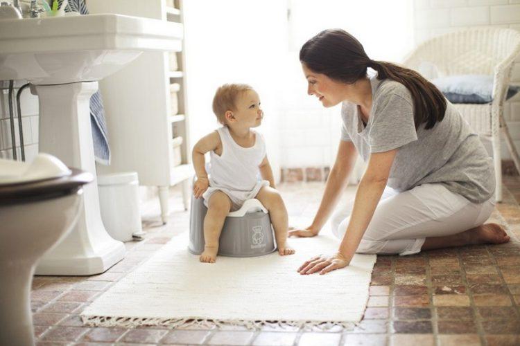 Метод приучения ребенка к горшку