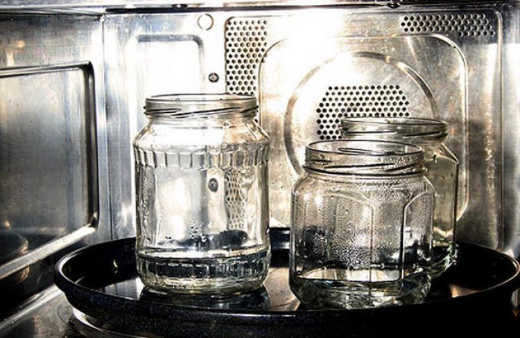Стерилизация банок с помощью пара