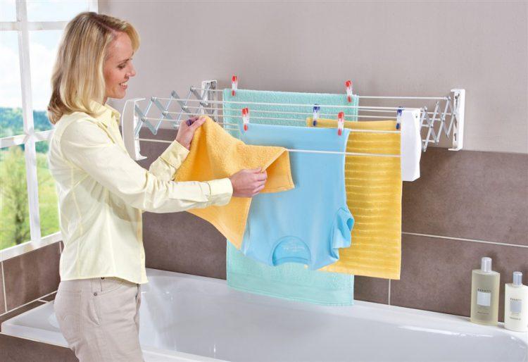 Избавление от складок в ванной комнате
