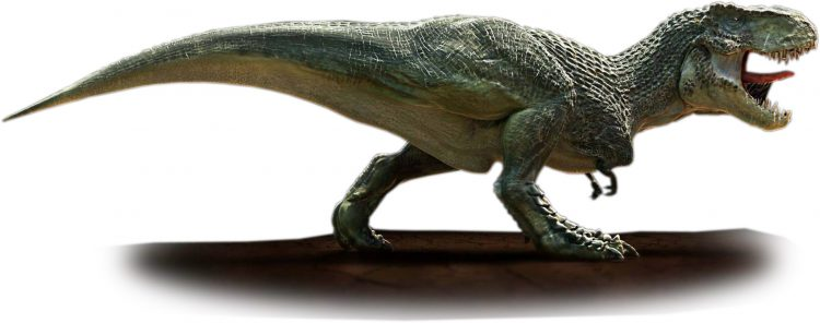 Гигантский тиранозавр