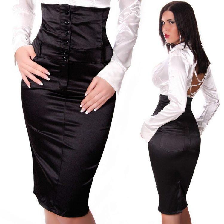 юбки с заниженной талией