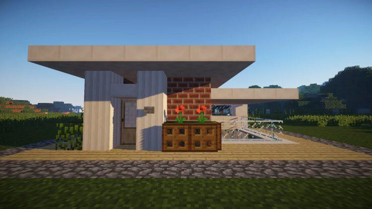 Как построить здание в майнкрафте