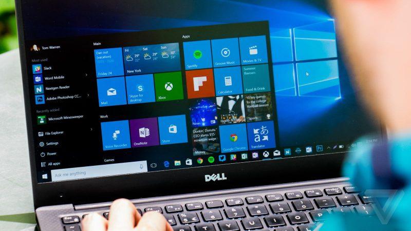 Windows 10 ноутбук