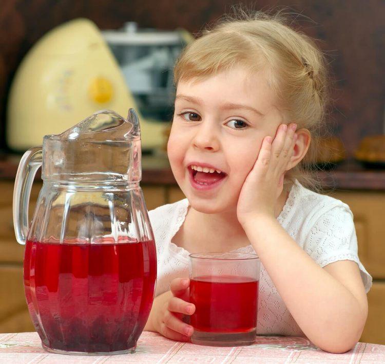 компот из вишни для детей
