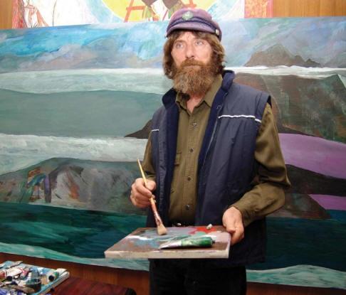 Конюхов пишет картины, а также является автором книг