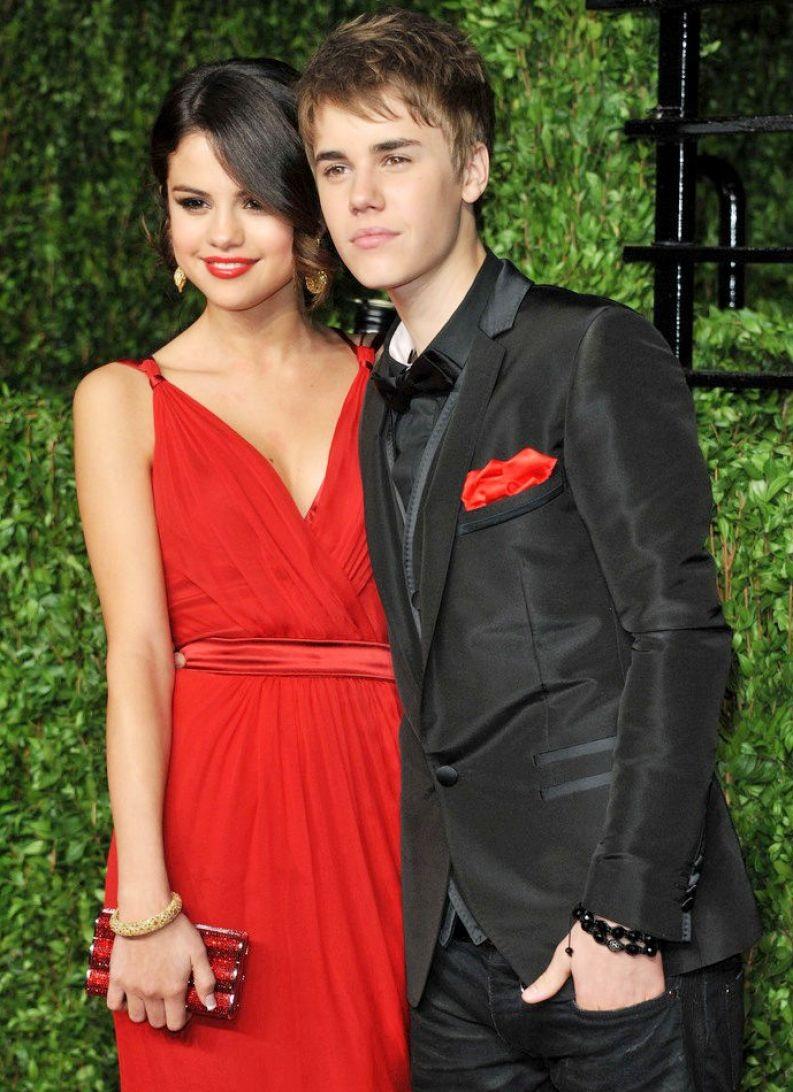 Селена и Джастин на премии Оскар-2011