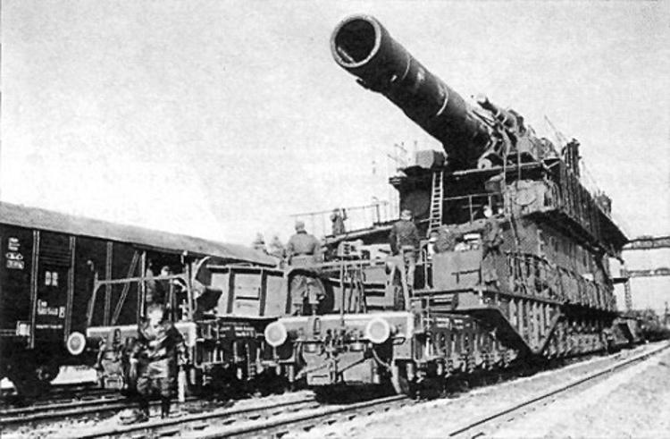 «Дора» - самая большая пушка Гитлера